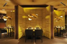 Link #lighting desinged by #RayPower for #LzfLamps at Element #Restaurant in Lubljana (#Slovenia)