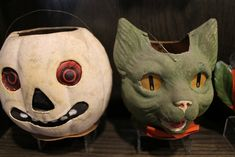Red Eyed Ghost JOL with Green Cat lanterns | Brenda McNeilly | Flickr