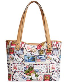 Giani Bernini Canvas Tote - All Handbags - Handbags & Accessories - Macy's