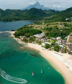 Misibis Bay Resort, Cagraray Island in Bacacay, Albay