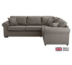 Buy Collection Erinne Fabric Right Hand Corner Sofa - Charcoal at Argos.co.uk, visit Argos.co.uk to shop online for Sofas, Sofas, armchairs and chairs, Home and garden