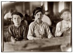 Young Cigar Rollers, by Lewis Hine