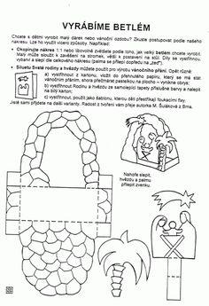Betlém - výroba (obrázek) / Kutění a bastlení před Vánoci / Vánoce   Pastorace.cz