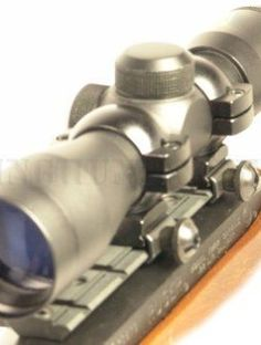 Ruger 10/22 Black (Blued) 4x30 Rifle Scope