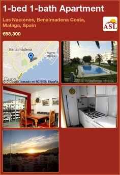 1-bed 1-bath Apartment in Las Naciones, Benalmadena Costa, Malaga, Spain ►€68,300 #PropertyForSaleInSpain