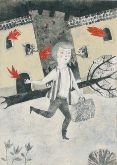alessandra vitelli illustratrice -  cover for Voltaire's Candide