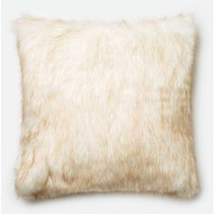Loloi Ivory And Camel Pillow 22 X 22 Ivory / Camel By ($109) ❤ liked on Polyvore featuring home, home decor, throw pillows, ivory throw pillows, faux fur throw pillow, cream throw pillows, cream colored throw pillows and beige throw pillows