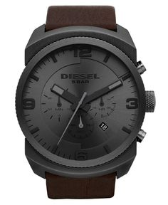 $200 Diesel DZ4256 Watch - Men's Watches - Jewelry & Watches - Macy's
