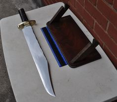 * VINTAGE RARE JOSEPH RODGERS & SONS EXHIBITION DISPLAY OVERSIZED BOWIE KNIFE * | eBay