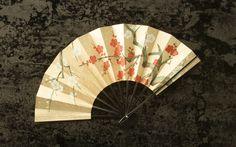 Japanese gilded fan