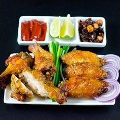 Crispy Baked Chicken Wings  Angie Knight said this was all the kids ate last year They order from frogs the best deal
