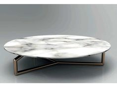 Low round coffee table GINGER by Esedra by Prospettive design Studio Memo