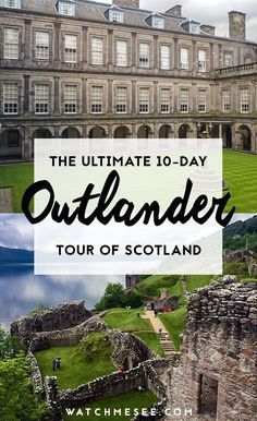 Calling all Outlander fans! This ultimate 10-day tour through beautiful Scotland is for you! Here's what to expect and how to go! #outlander #outlanderscotland #outlandertour #scotlandtravel #scotland