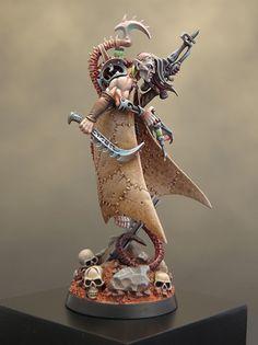 Sproket's Small World: Dark Eldar Haemonculus & Golden Demon 2014