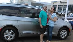Caroline, we hope you enjoy your new 2017 CHRYSLER PACIFICA.  Congratulations and best wishes from Landmark Chrysler Jeep Fiat and RICHARD MADISON.