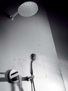 Tres Flat inbouw regendouche set mengkraan met 22 cm douchekop rond chroom 20418002