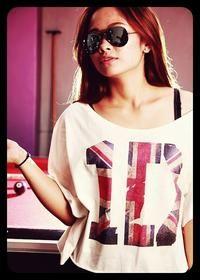 1D UK flag shirt