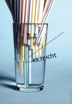 aus der fünfteiligen Plakatserie »Wasserpolitik«