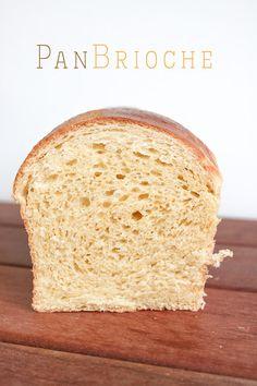 Pan Bread, Bread Baking, Receta Pan Brioche, Donuts, Pan Dulce, Bread Machine Recipes, White Bread, Sweet Bread, My Recipes