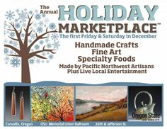 The Holiday Marketplace | Memorial Union | Oregon State University