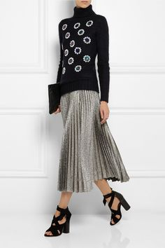 Matthew Williamson | Paillette-embellished mohair-blend sweater | NET-A-PORTER.COM