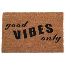 Good Vibes Only Doormat