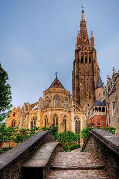 Iglesia de Nuestra Señora, Brujas, Bélgica