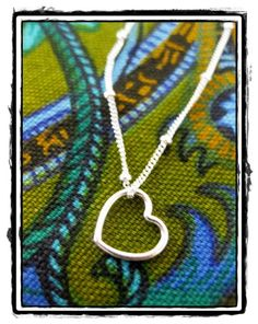 Isabelle Necklace  Sterling silver 16 or 18 inch by abbyhathaway, $17.50