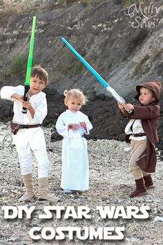 DIY Kids Star Wars Costumes - Melly Sews - Tutorials