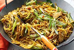 Delicious noodle dishes - check out the spices