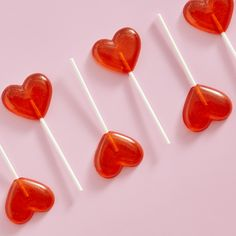 How to: Heart lollipops - Life Red Aesthetic Grunge, Aesthetic Vintage, Pink Aesthetic, Pastel Red, Red And Pink, Aesthetic Images, Artisanal, Valentines, Valentine Cupcakes