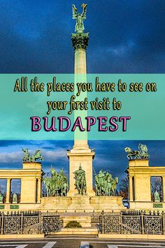 Budapest is one of the most inspiring capitals in Europe. If you haven't got to visit this city yet, here are the tips from a local to show you the places you can't miss out on your first visit.