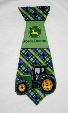 John Deer tie shirt.