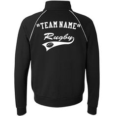 Customize jacket | Custom trendy track jacket for rugby.