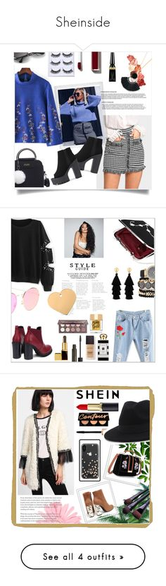 """""""Sheinside"""" by lulu0205 ❤ liked on Polyvore featuring Polaroid, Lime Crime, Chanel, Christian Louboutin, Sheinside, shein, Too Faced Cosmetics, NYX, Laura Mercier and Jo Malone"""