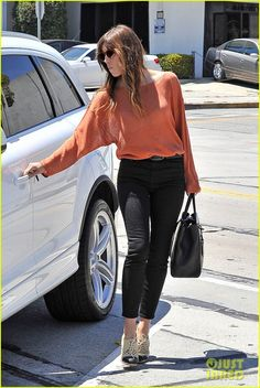Jessica Biel eighties style