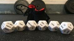WOD dice for randomized workouts | 27 Gifts For Crossfit-Obsessed People In Your Life
