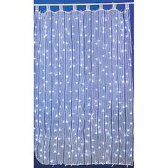 Our LED Curtain Light features a spectacular display of lights woven into a lightweight gauze material.