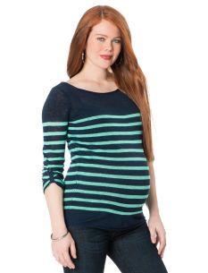 Long Sleeve Maternity Sweater