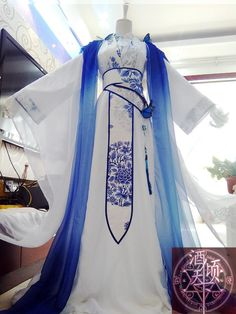 Pretty Outfits, Pretty Dresses, Beautiful Outfits, Cool Outfits, Mode Kimono, Fantasy Gowns, Chinese Clothing, Kimono Dress, Kawaii Clothes