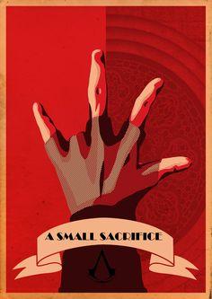 Assassin's Creed 1 Propaganda by BaronBLACK