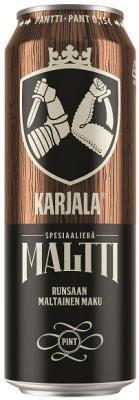 Karjala Maltti – pehmeää maltaisuutta ja bourbonin makua   hartwall.fi