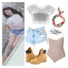 """""""Becky g outfit"""" by sarilemartinez on Polyvore featuring beauty"""