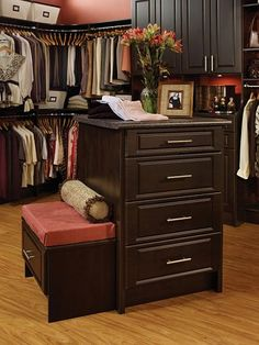 """Spring Cleaning is in order!....Get Started with These 35 Closet Make-Over Tricks!  ONE of these days, this is what I plan to do with the room next to the Master Bedroom, which is currently being used as an office!  """"If you're going to dream, Dream Big""""!!"""