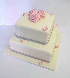 2 tier wedding cake Gluten Free Wedding Cake, 2 Tier Wedding Cakes, Celebration Cakes, Cake Ideas, Sugar Free, Dairy Free, Weddings, Shower Cakes, No Dairy