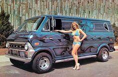 Ford Van. #CustomVan #VanGo #FordVan #Econoline