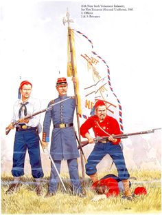 11th New York Volunteers 'Fire Zouaves' 1861