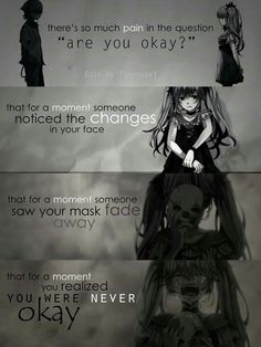 Everyone wear a mask at some point in there life's but some people has it more difficult to take of the mask, living with a mask to be able to smile or just simply to fit in.