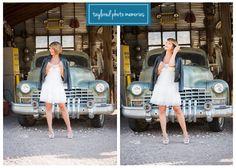 Vintage Car wedding photo shoot. In Las Vegas at Nelson's Landing (Eldorado Canyon) with Nostalgia Resources and Taylored Photo Memories. Las Vegas Wedding Photography.