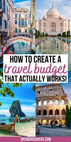 A Complete Guide to Creating a Travel Budget That Actually Works | how to create a travel budget | travel budget planner | travel budget planner saving money | travel budget planner template | travel budget worksheet | travel budget template | travel budget tips | travel on a budget tips | cheap travel budget tips | travel budget tips saving money | budget travel guide | #travelbudget